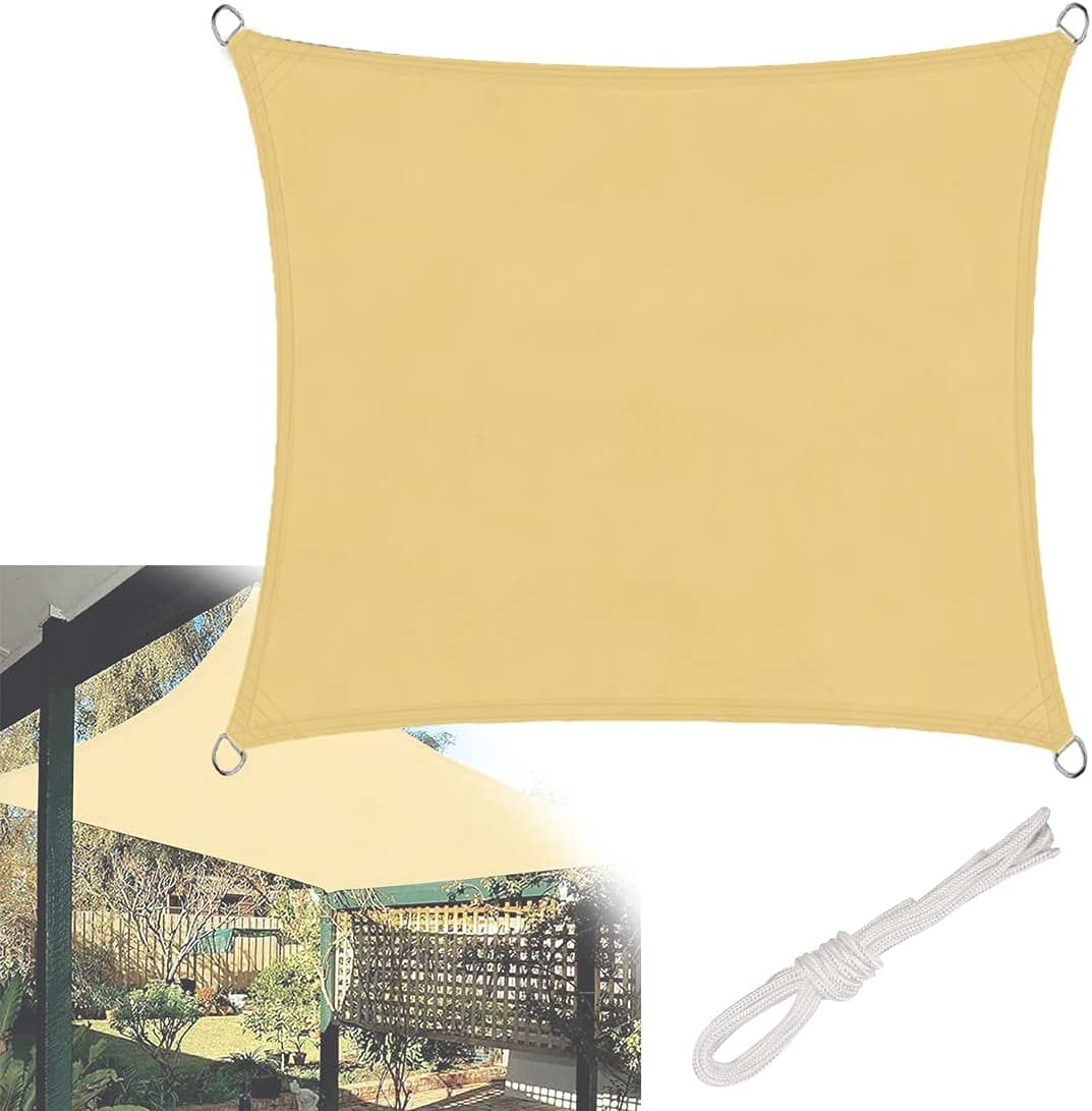 Gifts HGTRH Shade Sail Awning Rectangle Outdoor Sun Selling and selling Canopy