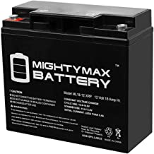 Mighty Max Battery 12V 18AH SLA Replacement Battery for Briggs Stratton 193463GS Brand Product