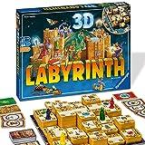 Ravensburger 26113 Labyrinth 3D, Versión Española, Juego de Mesa para Niños y Adultos, Jugadores 2-4, Edad Recomendada 7+