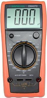 AideTek DM4070 LCR meter multimeter tester capacitance Inductance Resistance self-discharge