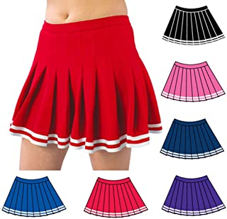 Pizzazz Red Pleated Cheer Uniform Adult Skirt 2XL