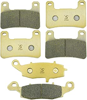 Foreverun Motor Front and Rear Brake Pads for Suzuki VZR 1800 Boulevard M109R 2006-2014