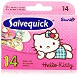 Salvequick - Hello Kitty - Apósito resistente al agua y suciedad - 14 unidades