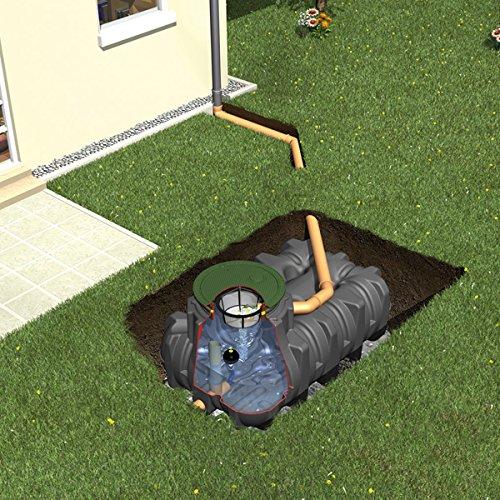 Regenwasser - Rückhalte - Zisterne Flachtank Platin 3.000L GRAF 390301