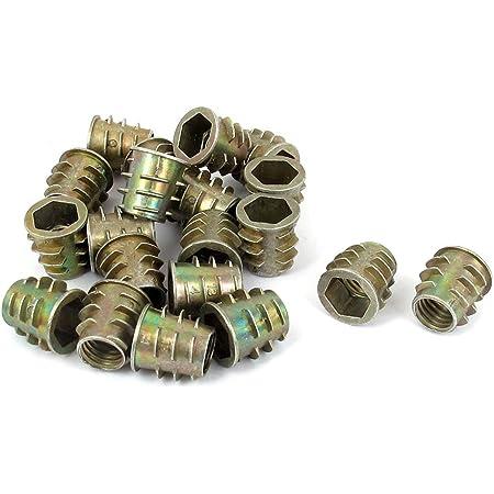 uxcell a15111600ux0323/M8/x 20/mm Hex Socket Screw en Hilo Insertar Tuerca