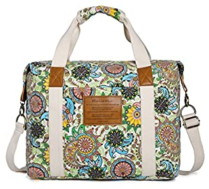 Malirona Ladies Canvas Travel Weekender