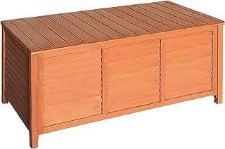 Gardeon Wooden Outdoor Storage Bench Entryway Hallway Garden Box Seat Timber