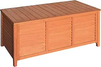 Gardeon Wooden Outdoor Storage Bench Entryway Hallway Garden Box Seat Timber