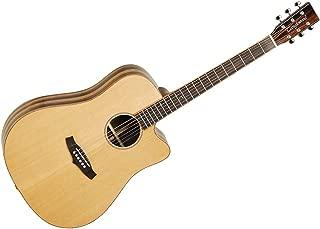 Tanglewood TWJDSCE Java Amara/Spalt Back Acoustic-Electric Guitar