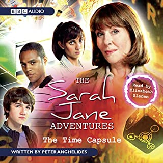The Sarah Jane Adventures audiobook cover art