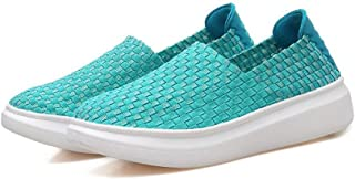 lcky Casual Shoes Shoes Sneakers Woven Rocking Shoes Lazy Shoes Flat Shoes