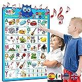 LVAP Bilingual Talking Alphabet Poster by Gufino-...
