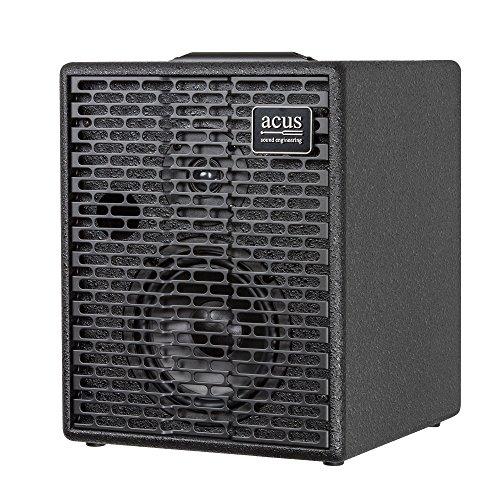 Acus Sound Engineering 03000604 OneforStrings 6T Acoustic Guitar Amplifier - Black