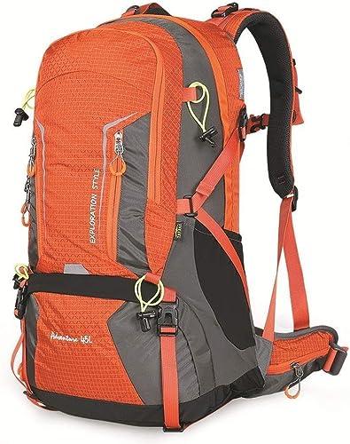 AJZXHE Sac d'alpinisme en Plein air Sac à Dos Pliable pour Hommes et Femmes transportant Le Camping en Plein air Sac à Dos de randonnée (Couleur   A)