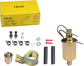 DEAL E8012S New Universal Electric Fuel Pump High Performance free Flow In Line External 5-9 PSI 12V With Installation Kit