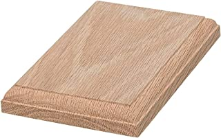 JMP Wood Rectangle Rosette 220 (Red Oak Wood)