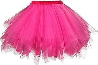 Women's 1950s Vintage Tutu Petticoat Ballet Bubble Skirt (26 Colors)