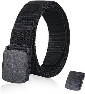 Nylon Military Tactical Men Belt Outdoor Canvas Webbing Web Belt 1.5
