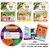 A perfect companion for early learners to strengthen basic skills This activity will help preparing your smart kids to learn faster and easier. We do offer over 20+ different fun learning daily activity worksheets and books. You can find all these un...