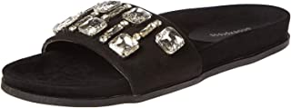 Shoexpress Slides for Women - Black