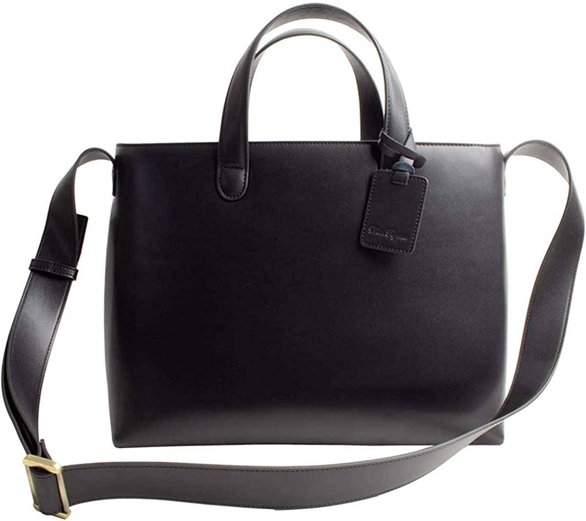 Max 83% Courier shipping free shipping OFF Dom Teporna Full Grain Italian Tote Bag Shoulder Leather Handle