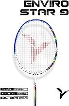 Young ENVIRO Star Professional Badminton Racket, Lightweight, Japan High Modulus 40-Ton Graphite, Includes Carrying Bag (BWF World Championship Series)