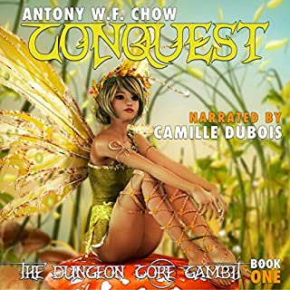 Conquest     The Dungeon Core Gambit, Book One              By:                                                                                                                                 Antony W.F. Chow                               Narrated by:                                                                                                                                 Camille DuBois                      Length: 10 hrs and 21 mins     324 ratings     Overall 4.2
