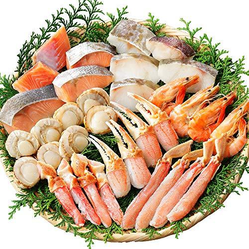 北海道 蟹 海鮮 鍋 セット 1kg 約4-5人前 カニ 鮭 鱈 ホタテ 海老 蟹鍋 北国からの贈り物