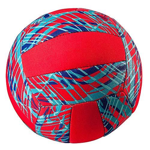 TOOLZ Neopren Volleyball - rot - 45cm - Strand- und Wasserspielball