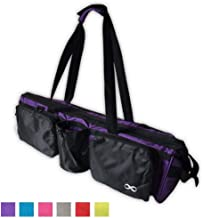 """YogaAddict Yoga Mat Tote Bag Supreme and Carriers with Pocket & Zipper, 30"""" Long, Extra Large, Fit Most Mat Size, Pilates, Gym, Compartment for Yoga Block, Easy Access"""