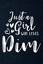 Recipe Book - Just a girl who loves dim sums dumpling yum cha foodie Quote: A Beautiful & Modern Keepsake Recipe Notebook...