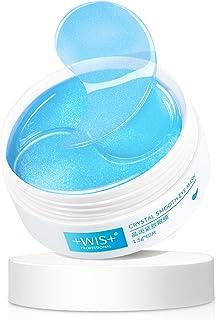 WIS Collagen Eye Mask Firming Under Eye Mask,Cooling Eye Pads for Relaxing Dark Circles and Eye Bags,Anti-Aging Wrinkle Eye Treatment Mask 30 Pairs