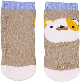COMVIP 2Kinds Unisex Infant Cute Cartoon Cotton Thick Casual Crew Socks