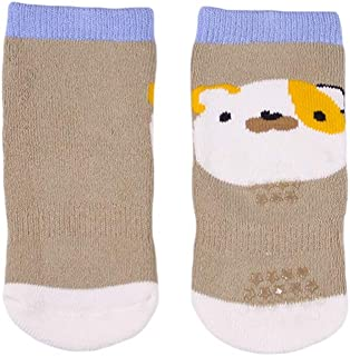 COMVIP 2Kinds Unisex Infant Cute Cartoon Cotton Thick Casual Crew Socks