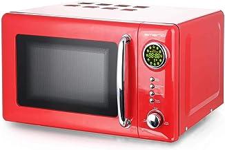 Emerio MW-112141 - Microondas (700 W, 20 L), diseño retro, color rojo