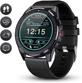 GOKOO Reloj Inteligente Hombre Smartwatch Deportivo Rastreador Actividad Reloj Inteligente Pantalla Táctil Completa Entren...
