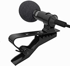 Sprinto VH45 HD Sound Quality & Noise Cancellation Clip Collar Mic Usable for You-Tube Video's | Interviews | Lectures | S...