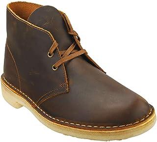 Clarks Originals Homme Desert Boot Cuir Dark Beeswax Bottes 41.5 EU