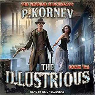 The Illustrious audiobook cover art