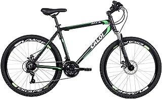 Bicicleta Mtb Caloi Htx Disc Aro 26 - Susp Dianteira Freio a Disco Câmbio Shimano 21 Velocidades - P