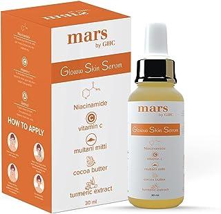 mars by GHC Vitamin C Face Serum For Glowing Skin, 30ml | 5% Niacinamide, 0.2% Retinol, Kakadu Plum Extract, Coco Butter, ...