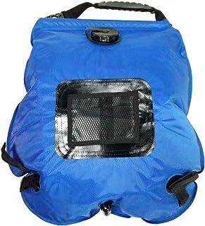Docooler Ligero portátil al Aire Libre Solar Camping Bolsa de Ducha con Manguera extraíble y conmutable