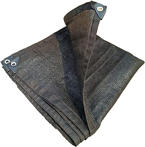 GuoEY Filet De Camouflage Prougeection Contre Les Ombres De Toit Réduire EfficaceHommest La Température Multifonction Pliable Polyester, 21 Tailles (Couleur   Noir, Taille   3x7m)