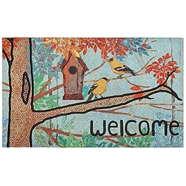 Mohawk Home 4820 17005 018030 Prism Garden Door Mat, 1'6X2'6, Multicolor