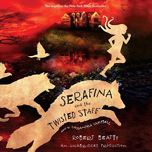 Serafina and the Twisted Staff cover art