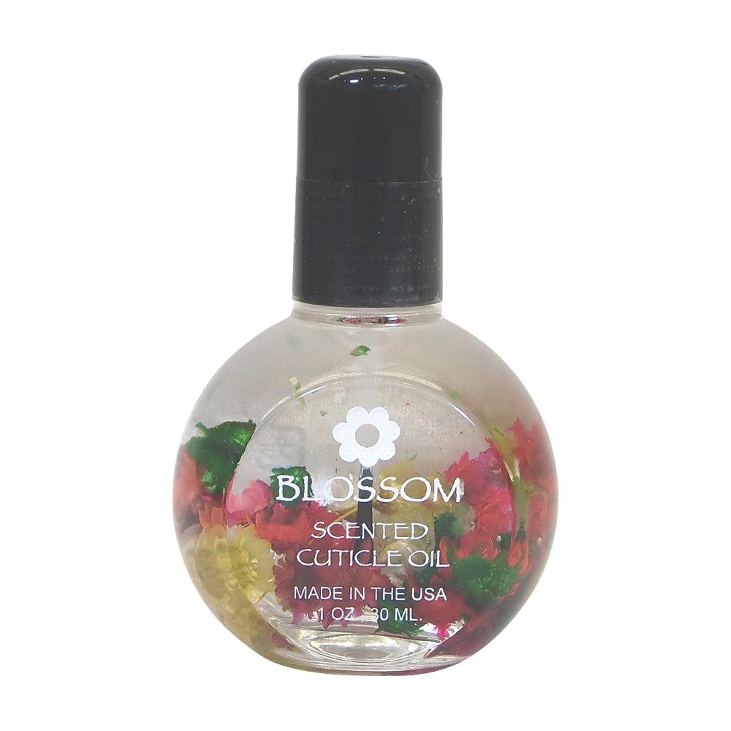 苦味スケッチ冷淡なBlossom ネイルオイル フラワー ハイビスカス 30ml
