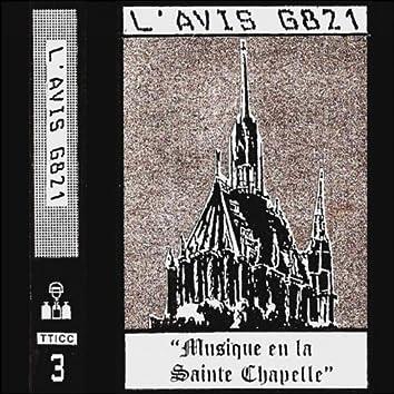 Musique en la Sainte Chapelle