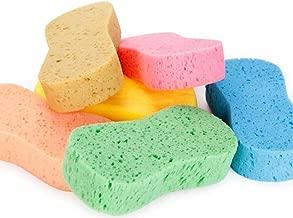 VORCOOL 5 Pcs Car Wash Sponges Bone Design for Polishing Porous Car Wash Sponges