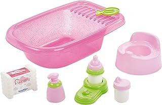 Jouets Ecoiffier – 788 - Baignoire rose pour poupées – Jeu d'imitation – Dès 18 mois – Fabriqué en France