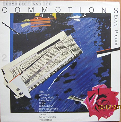 LLOYD COLE AND THE COMMOTIONS Vinyl LP -Easy Pieces,(Incl Lost Weekend) EX